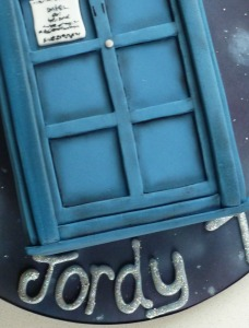Dr Who close up
