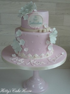 Lily-Rose and Gracie cake