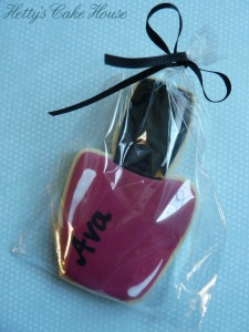 Nail polish cookie