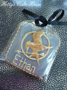 Mocking Jay cookies