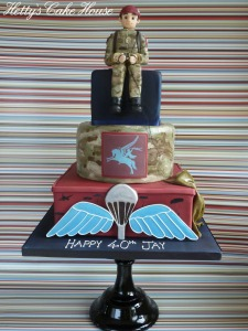 Paratroopers cake