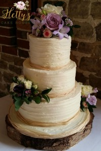 Loriane's wedding cake
