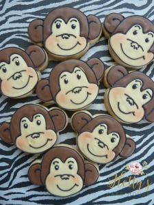 Monkey face cookies