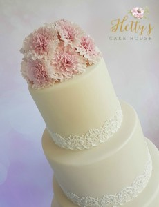 Carnationweddingcake