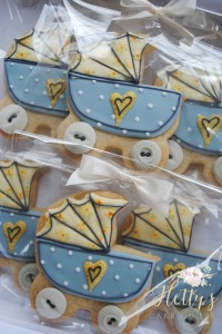 Bagged pram cookies