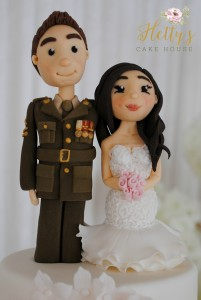 Solider and bride