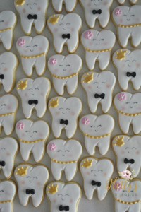 tooth cookies